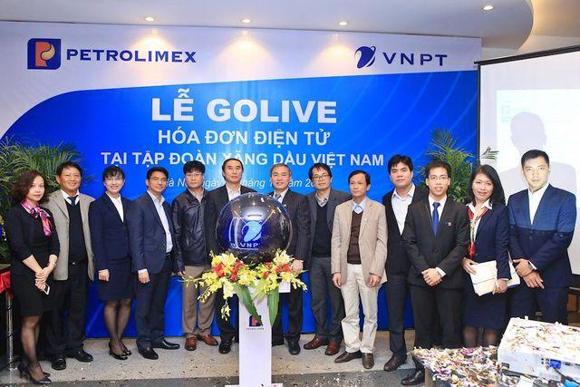 Tập đoàn Xăng dầu Việt Nam (Petrolimex) đã tổ chức Lễ Go-Live triển khai sử dụng hóa đơn điện tử thay cho hóa đơn giấy